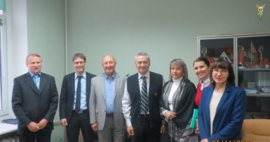 "About cooperation of UE ""Mogilev Branch of BelCCI"" and CCI Erfurt (Germany)"