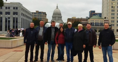Business visit to Wisconsin, USA