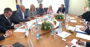 Meeting with ambassador extraordinary and plenipotentiary of Ukraine