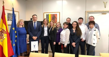 Training of finance department specialists in Spain