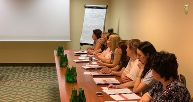 Training in Poland under the IFRS programme, Warsaw