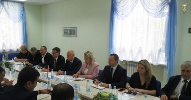Business meeting with the delegation of the Republic of Uzbekistan