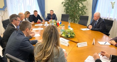 Meeting with Ambassador of the Republic of Moldova to Belarus