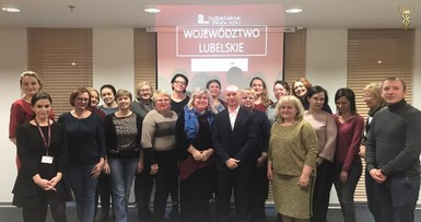Training in Poland under the IFRS programme, Warsaw, Lublin
